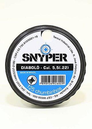 Chumbinho Diabolo Snyper Cal. 5,5mm 125un