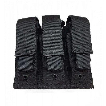 Bolso Modular Para 3 Carregadores de Pistola - Dacs