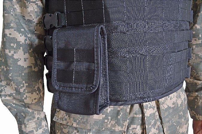 Porta Carregador Duplo Modular De Fuzil CM2011 - Cia Militar