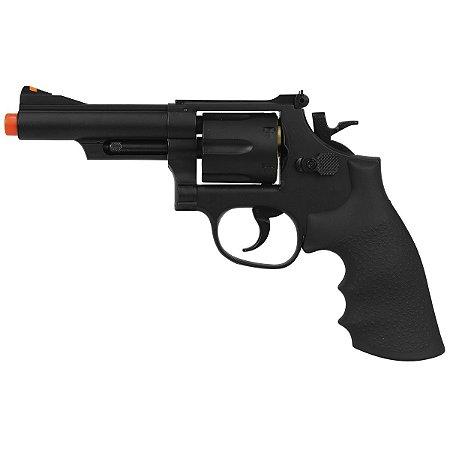 "Revolver Airsoft Gbb UHC Black 4"" Polimero 6mm - UG-136B"