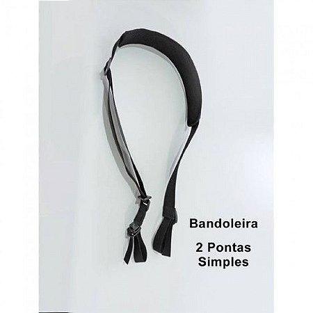 Bandoleira 2 Pontas Simples - Cia Militar
