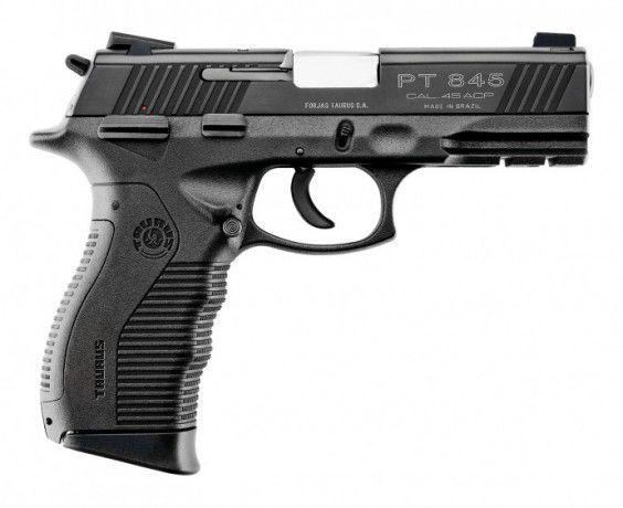 "Pistola Taurus 845 Cal .45 - 4"" polegadas"