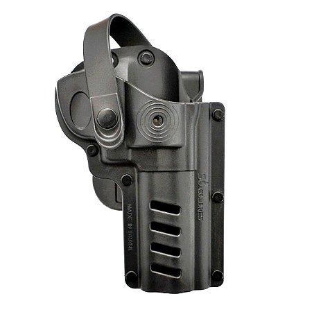 Coldre (SC084) Externo Para Revolver Tracker 7 Tiros (.357) - Só Coldres