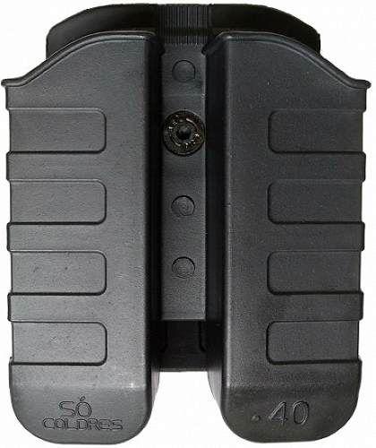 Porta Carregador Duplo (SC011) Para Cal .40 e 9mm - Só coldres