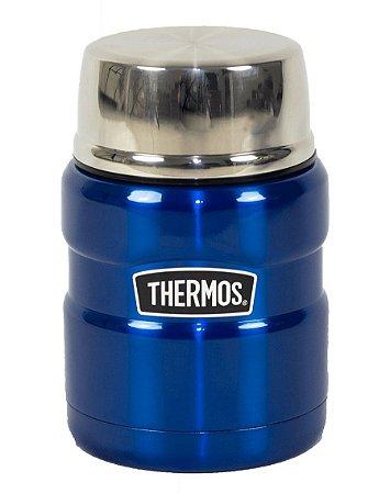 Frasco Térmico 470ml Everest Para Comida Com Colher - Thermos