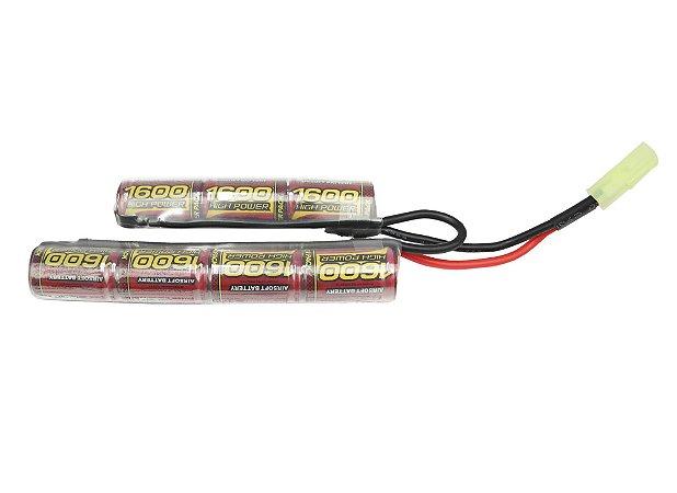 Bateria Para Rifle de Airsoft Mod Butterfly 8,4v/1600MAH