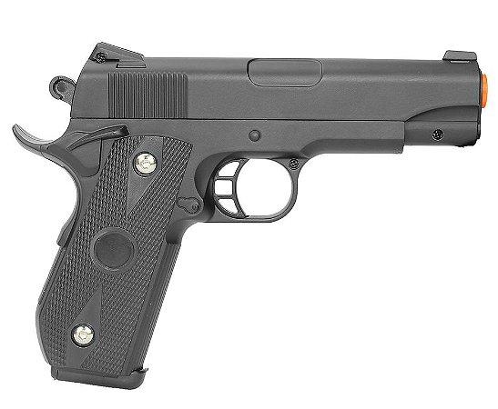 Pistola Airsoft Spring VG 1911-V9 Metal - Rossi