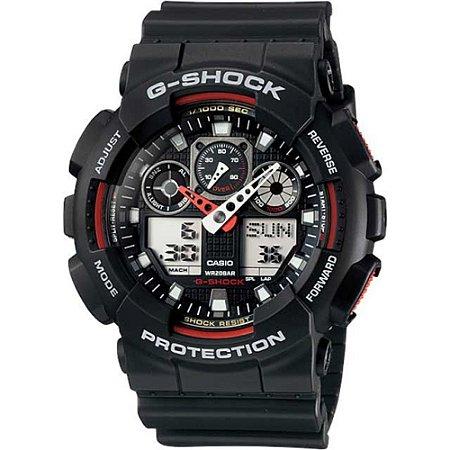 Relógio Casio GA-100-1A4DR - G-Shock