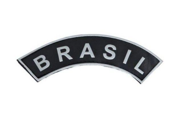Patch Brasil Emborrachado - Bélica