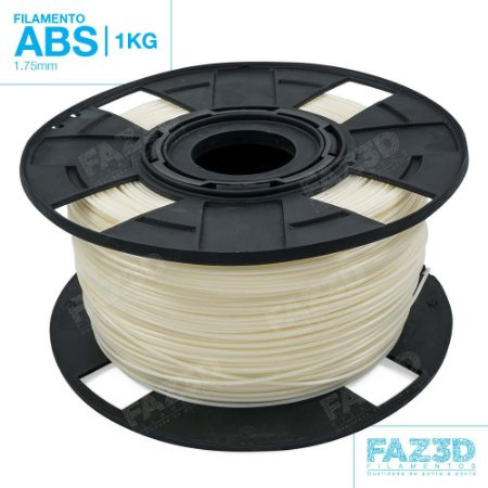Filamento ABS 1.75mm Natural - 1Kg