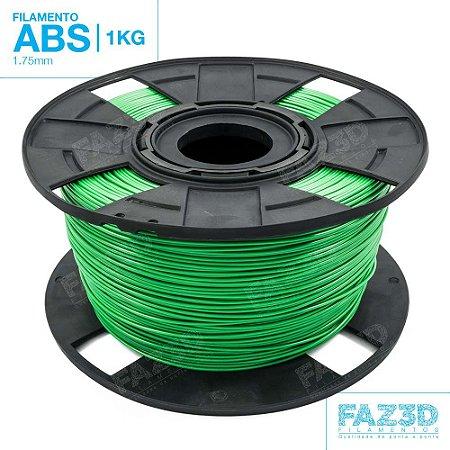 Filamento ABS 1.75mm Verde - 1Kg