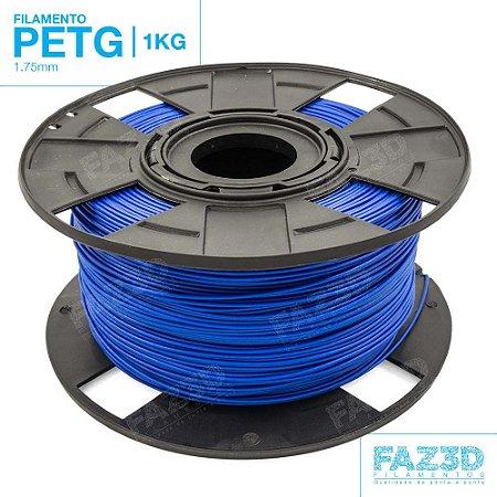 Filamento PETG 1.75mm Azul - 1Kg