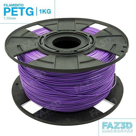 Filamento PETG 1.75mm Roxo - 1Kg