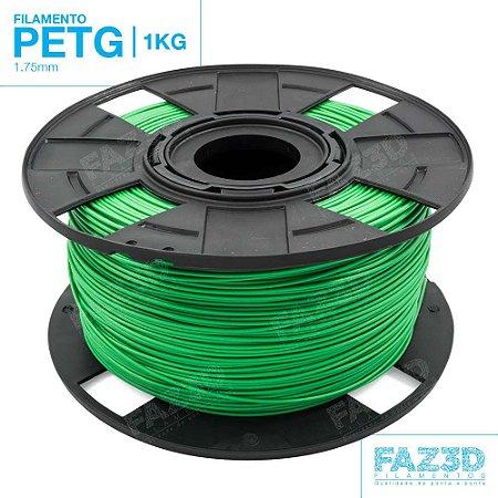Filamento PETG 1.75mm Verde - 1Kg