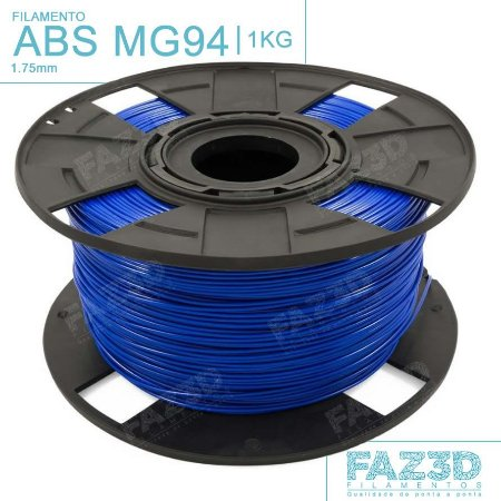 Filamento ABS MG94 (Premium) 1.75mm Azul - 1Kg