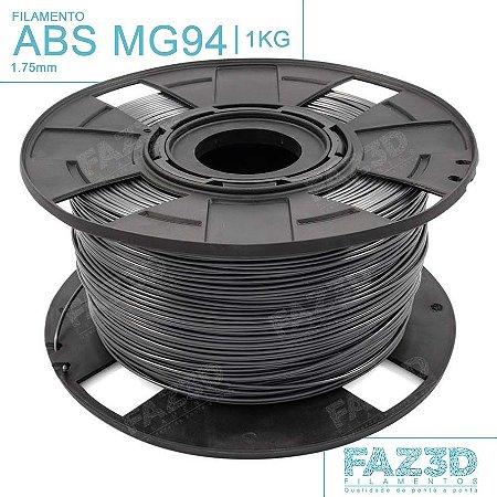 Filamento ABS MG94 (Premium) 1.75mm Cinza - 1Kg