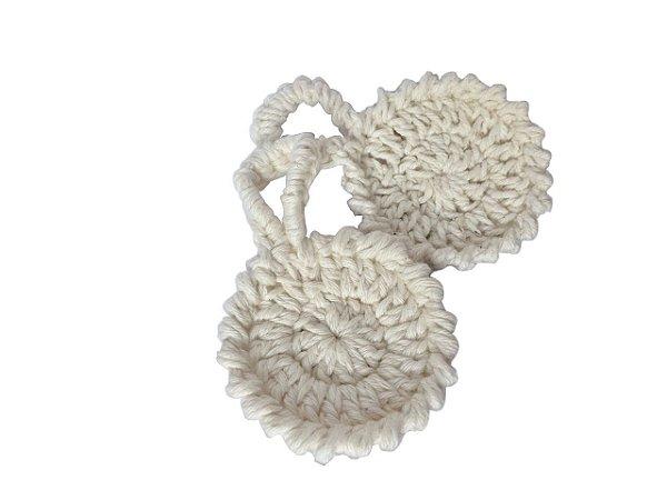 Disco de crochê Reutilizável - 2 unidades