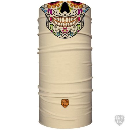 Bandana Tubular Huzze-Rag Caveira Mexicana Nude