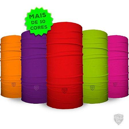 Bandana Tubular Huzze-Rag Lisas- 10 cores