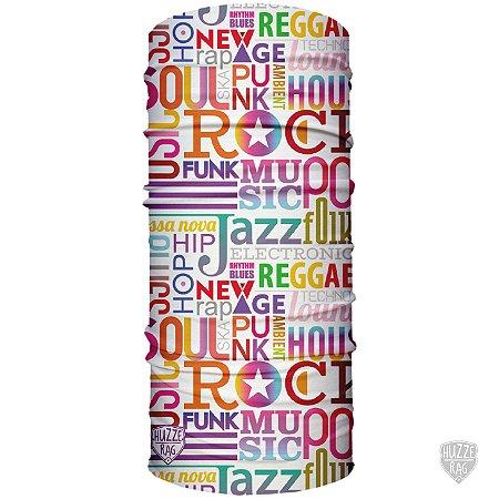 Bandana Tubular Huzze-Rag Music