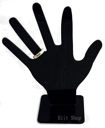 Expositor Acrílico Para Anel Formato de Mão