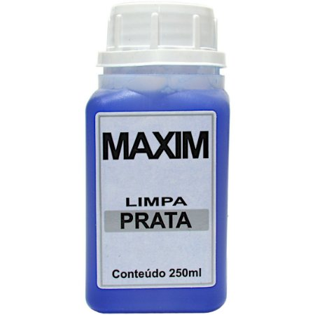 Limpa prata Maxim 250 ml