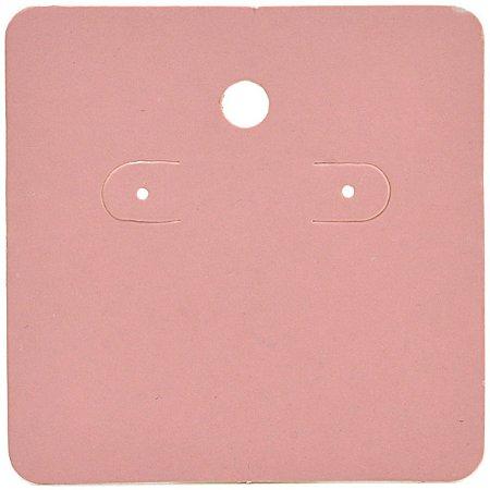 Cartela Para Brincos 6 x 6 cm - C44 Rosa