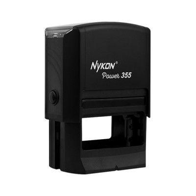 "Carimbo Autentintado Nykon 355 com medida de 40x60mm ""Ideal para carimbo de CNPJ"""