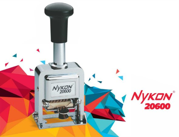Carimbos Numerador Automático Sequencial 6 Dígitos Nykon 20600