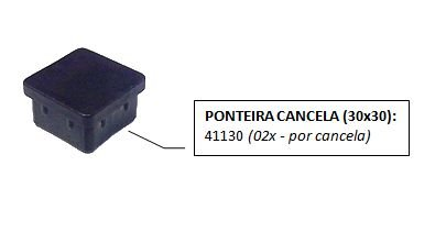 PONTEIRA 30 X 30 INTERNA RETA REF 10041 FERMAPLAST