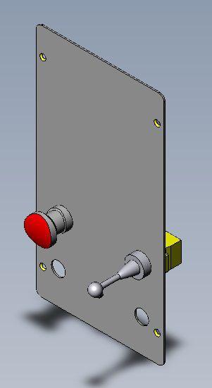 AC08-D-D7988 PAINEL JOYSTICK AC08