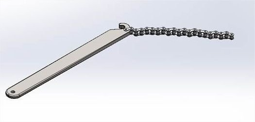 """Chave de Corrente 5"""" para Cilindros"""