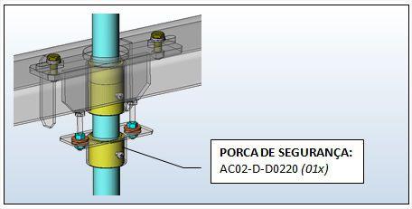 PORCA DE SEGURANÇA DO FUSO AC02 (AC02-D-D0220)