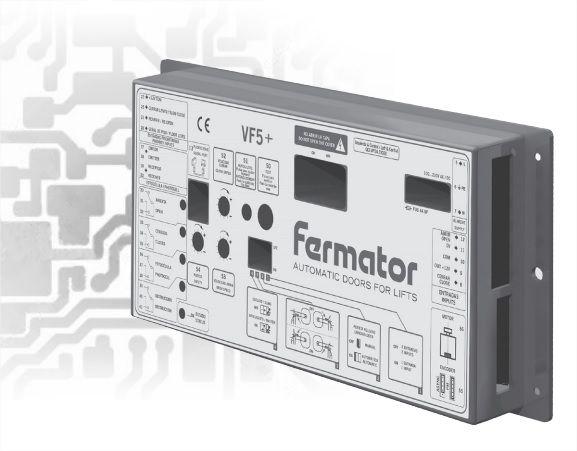 MODULO ELETRONICO - OPERADOR DE PORTA FERMATOR VF5+ (MODELO NOVO)