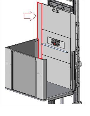 COLUNA DIREITA DO PAINEL - PLATAFORMA AC11 ( AC11-A-D9961 )