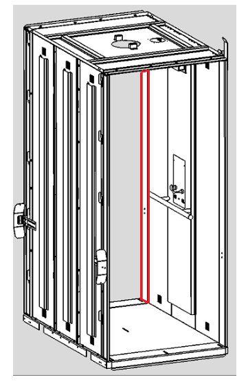 LATERAL ESQUERDA - ENTRADA 180 - CABINA AC08 ( AC08-D-D9876 )