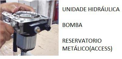 KIT Uidade Hidráulica SENSOR 2 e 3 PARADAS (UH SEM MOTOR ) - ELEVADOR ACCESS 4,8cc-(56016 )
