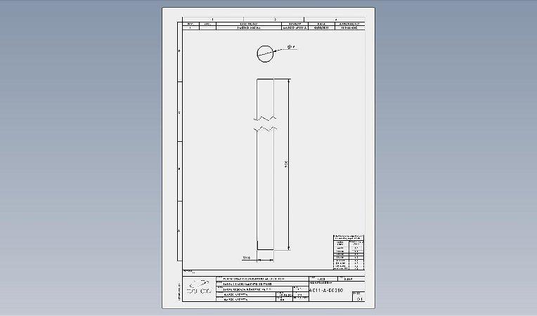 AC11-A-D0380 - BARRA DE ACIONAMENTO DO FREIO - AC11 E AC08