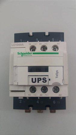 LC1D50AM7 - CONTATOR TRIPOLAR 220V/50A 1NA+1NF
