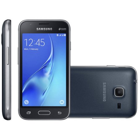 Samsung Galaxy J1 Mini, Dual Chip, 8GB, 5MP, 3G, Preto - J105