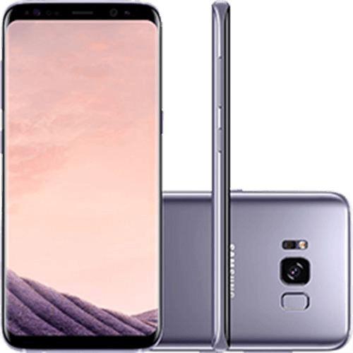 Smartphone Samsung Galaxy S8 Dual Chip Android 7.0 Tela 5.8 Octa-Core 2.3GHz 64GB 4G Câmera 12MP - Ametista