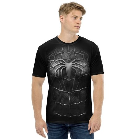 UNIFORMES - Marvel Spiderman Preta - Camisetas Variadas