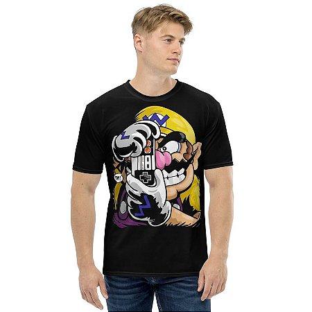 SUPER MARIO - Wario Smile ( Piada Mortal ) - Camiseta de Games