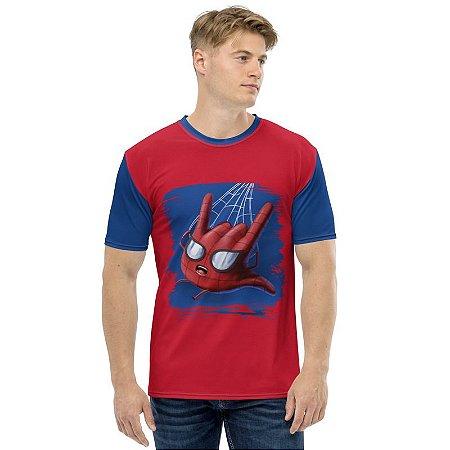 MARVEL HANDS - Homem Aranha - Camiseta de Heróis