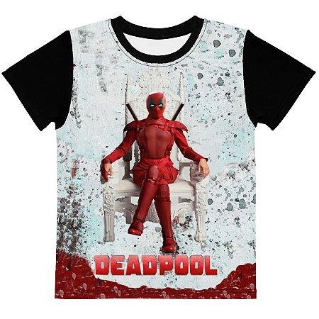 MARVEL - Deadpool Instinto Selvagem - Camiseta de Heróis