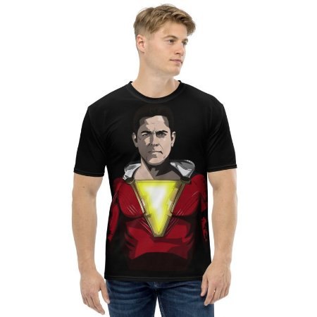 DC COMICS - Shazan Busto - Camiseta de Heróis
