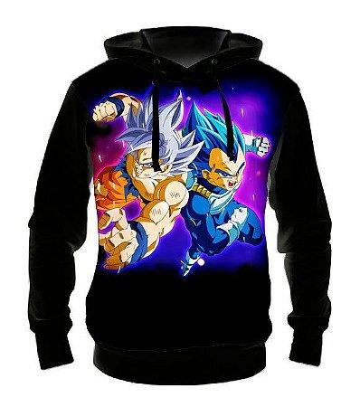 DRAGON BALL SUPER - Goku e Vegeta - Casaco de Moletom Animes
