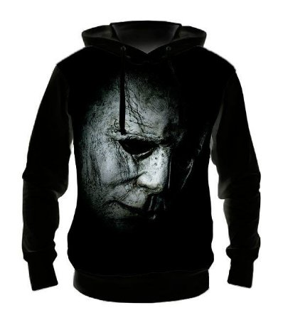 HALLOWEEN - Michael Myers Face - Casaco de Moletom Cinema