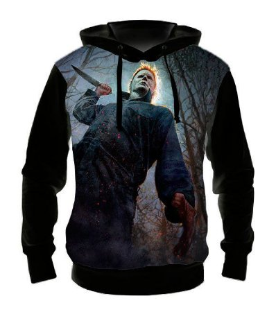 HALLOWEEN - Michael Myers - Casaco de Moletom Cinema