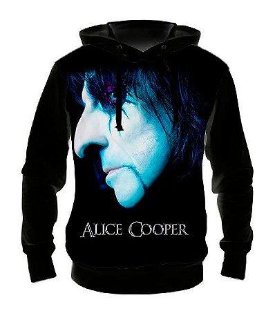 ALICE COOPER - Face - Casaco de Moletom Rock Metal